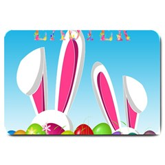 Easter bunny  Large Doormat