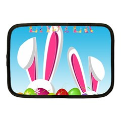 Easter bunny  Netbook Case (Medium)