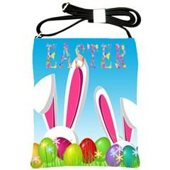 Easter bunny  Shoulder Sling Bags