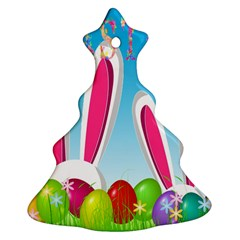 Easter Bunny  Ornament (christmas Tree)