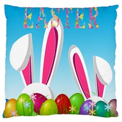 Easter bunny  Large Cushion Case (Two Sides)