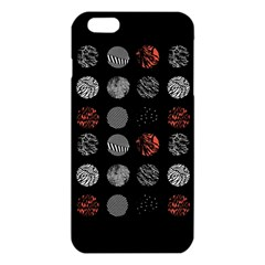 Digital Art Dark Pattern Abstract Orange Black White Twenty One Pilots Iphone 6 Plus/6s Plus Tpu Case