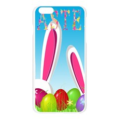 Easter bunny  Apple Seamless iPhone 6 Plus/6S Plus Case (Transparent)