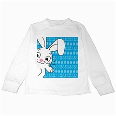 Easter bunny  Kids Long Sleeve T-Shirts