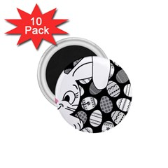 Easter bunny  1.75  Magnets (10 pack)