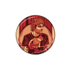 Ed Sheeran Illustrated Tour Poster Hat Clip Ball Marker