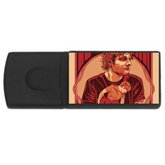Ed Sheeran Illustrated Tour Poster USB Flash Drive Rectangular (4 GB)