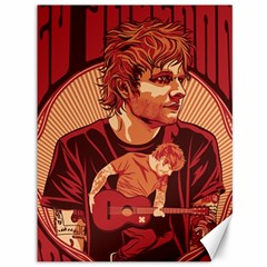 Ed Sheeran Illustrated Tour Poster Canvas 36  x 48