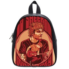 Ed Sheeran Illustrated Tour Poster School Bags (Small)