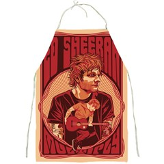 Ed Sheeran Illustrated Tour Poster Full Print Aprons
