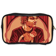 Ed Sheeran Illustrated Tour Poster Toiletries Bags 2-Side
