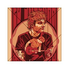 Ed Sheeran Illustrated Tour Poster Acrylic Tangram Puzzle (6  x 6 )