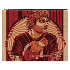 Ed Sheeran Illustrated Tour Poster Cosmetic Bag (XXXL)
