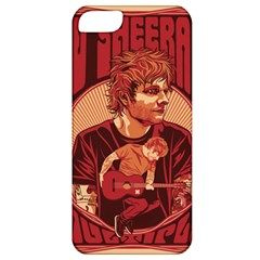 Ed Sheeran Illustrated Tour Poster Apple iPhone 5 Classic Hardshell Case