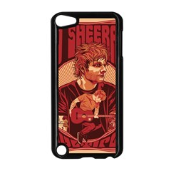 Ed Sheeran Illustrated Tour Poster Apple iPod Touch 5 Case (Black)