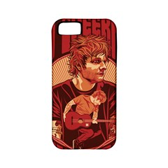 Ed Sheeran Illustrated Tour Poster Apple iPhone 5 Classic Hardshell Case (PC+Silicone)
