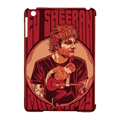 Ed Sheeran Illustrated Tour Poster Apple iPad Mini Hardshell Case (Compatible with Smart Cover)
