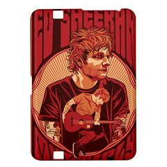 Ed Sheeran Illustrated Tour Poster Kindle Fire HD 8.9