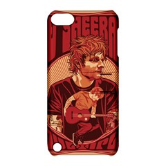 Ed Sheeran Illustrated Tour Poster Apple iPod Touch 5 Hardshell Case with Stand