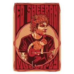 Ed Sheeran Illustrated Tour Poster Flap Covers (L)