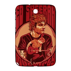 Ed Sheeran Illustrated Tour Poster Samsung Galaxy Note 8.0 N5100 Hardshell Case