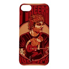 Ed Sheeran Illustrated Tour Poster Apple iPhone 5S/ SE Hardshell Case