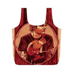 Ed Sheeran Illustrated Tour Poster Full Print Recycle Bags (M)