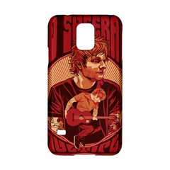 Ed Sheeran Illustrated Tour Poster Samsung Galaxy S5 Hardshell Case