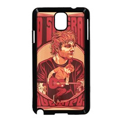 Ed Sheeran Illustrated Tour Poster Samsung Galaxy Note 3 Neo Hardshell Case (Black)