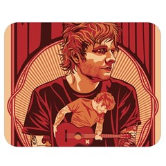 Ed Sheeran Illustrated Tour Poster Double Sided Flano Blanket (Medium)