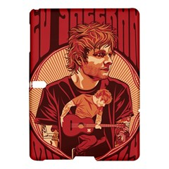 Ed Sheeran Illustrated Tour Poster Samsung Galaxy Tab S (10.5 ) Hardshell Case