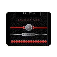 Twenty One Pilots Event Poster Double Sided Flano Blanket (Mini)