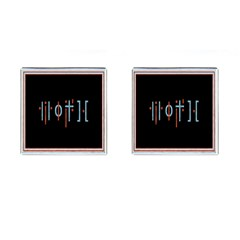 Twenty One Pilots Event Poster Cufflinks (Square)