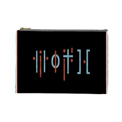 Twenty One Pilots Event Poster Cosmetic Bag (large)