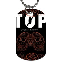Twenty One Pilots Event Poster Dog Tag (Two Sides)