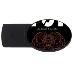 Twenty One Pilots Event Poster USB Flash Drive Oval (4 GB)