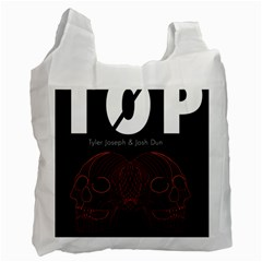 Twenty One Pilots Event Poster Recycle Bag (Two Side)
