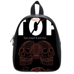 Twenty One Pilots Event Poster School Bags (Small)