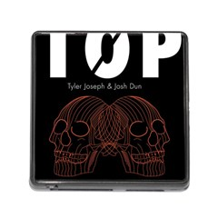 Twenty One Pilots Event Poster Memory Card Reader (Square)