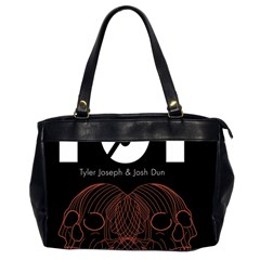 Twenty One Pilots Event Poster Office Handbags (2 Sides)