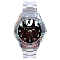 Twenty One Pilots Event Poster Stainless Steel Analogue Watch