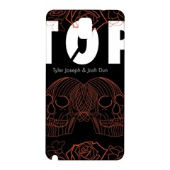Twenty One Pilots Event Poster Samsung Galaxy Note 3 N9005 Hardshell Back Case