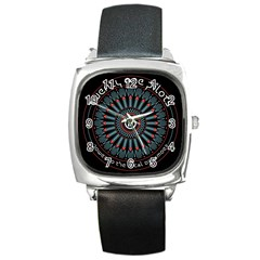 Twenty One Pilots Square Metal Watch
