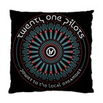 Twenty One Pilots Standard Cushion Case (Two Sides) Front