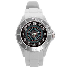 Twenty One Pilots Round Plastic Sport Watch (l)