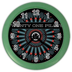 Twenty One Pilots Color Wall Clocks