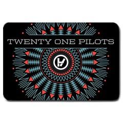 Twenty One Pilots Large Doormat