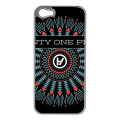 Twenty One Pilots Apple Iphone 5 Case (silver)
