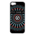Twenty One Pilots Apple iPhone 5 Case (Silver) Front