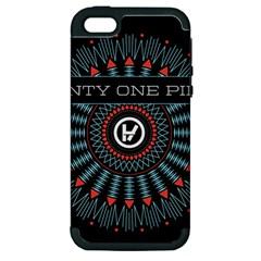 Twenty One Pilots Apple iPhone 5 Hardshell Case (PC+Silicone)